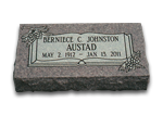 Grass Markers, Bevels and Slants